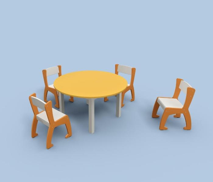 Chairs for kindergarten