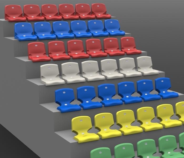 Auditorium and stadium seats