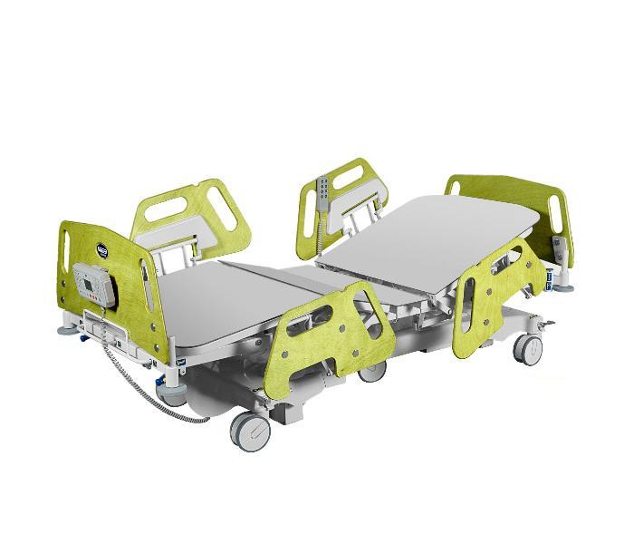 Bed for intensive care units