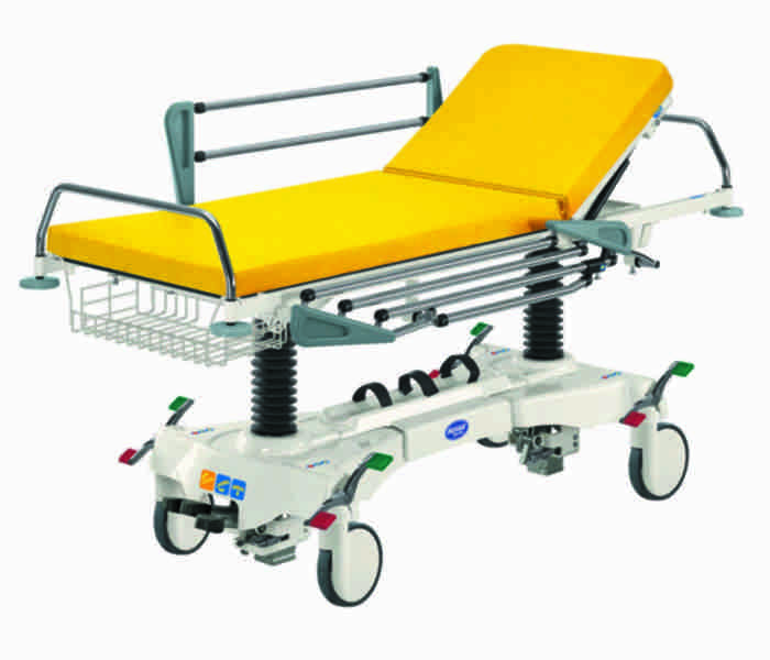 Trolley for patients transport